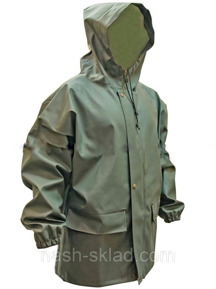 Куртка для рыбалки из ПВХ