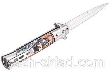Стильный выкидной нож, отличный подарок парню, фото 2