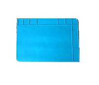 Силиконовый коврик для ремонта телефонов TE-508 48 x 34 см (Голубой)