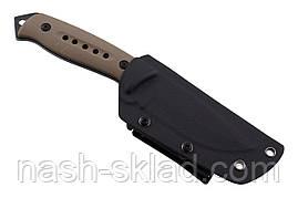 Нож тактический нескладной, цельнометаллической конструкции, надежная гарантия качества, фото 3