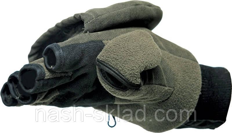 Зимние перчатки-варежки Norfin отстёгивающиеся с магнитом