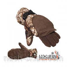 Охотничьи перчатки, варежки на рыбалку, Norfin супер качество, фото 2