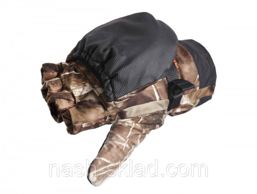Перчатки зимние для охоты и туризма, варежки на рыбалку, Norfin супер качество