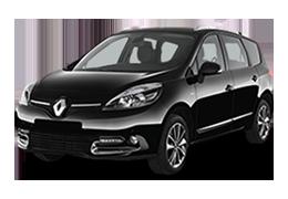 Килимок в багажник для Renault (Рено) Scenic 3 2009-2015