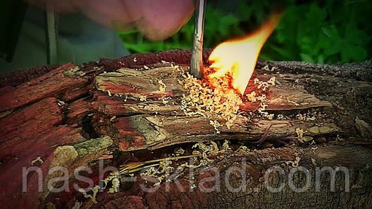 Огниво с компасом для туризма, работает в любую погоду, фото 2