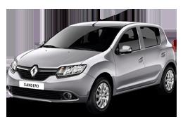 Килимок в багажник для Renault (Рено) Sandero 2 2012+