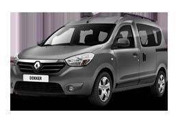 Килимок в багажник для Renault (Рено) Dokker 2012-2016