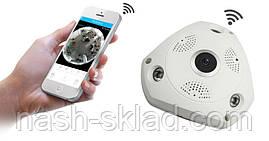 Панорамна Wi-Fi IP-камера 360° (риб'яче око) 1080, фото 3