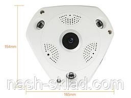 Панорамна Wi-Fi IP-камера 360° (риб'яче око) 1080, фото 2