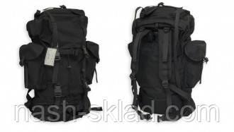 Черный рюкзак армейский Германия , фото 2