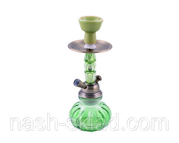 Кальян на одну персону, зеленого цвета, Изумрудное наслаждение, фото 2