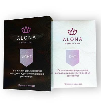 Alona Perfect Hair - Ампулы против выпадения и для стимулирования роста волос День / Ночь (Алона), фото 2