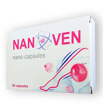 Nanoven (Нановен) от варикоза 20капс, фото 2