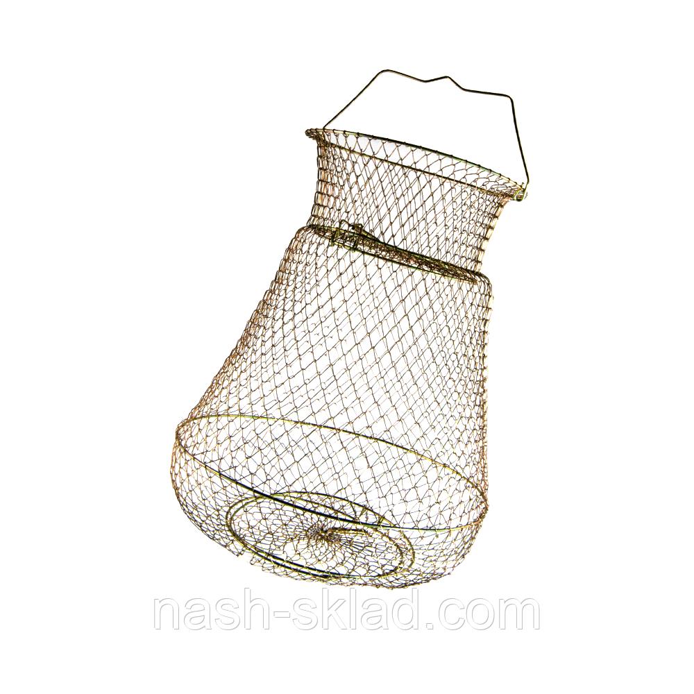 Садок рыболовный металлический, идеально подойдет для большого улова