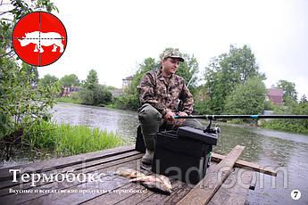 Ящик пенопластовый для рыбалки 25 литров, термобокс для туризма, фото 2