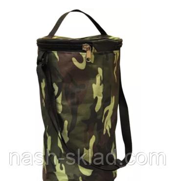 """Набор жерлиц (10 штук) """"Щука"""" с тормозом - ОСНАЩЕННЫЕ  в камуфляжной сумке, фото 2"""