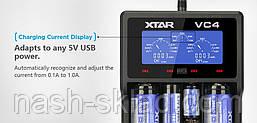 Профессиональное зарядное устройство XTAR VC4, фото 3