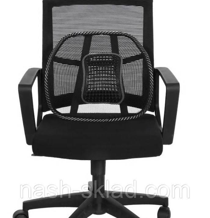🏌♂ Спинка-подушка с массажером на сиденье