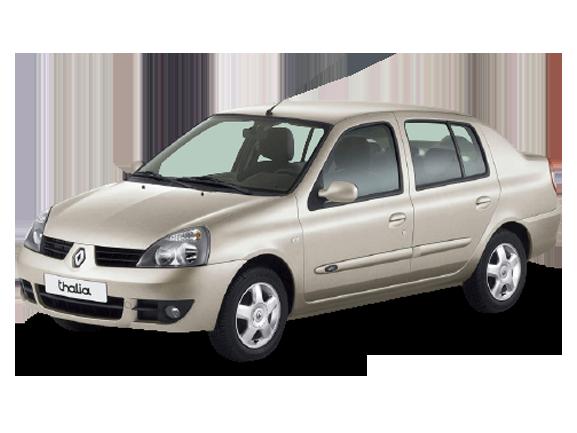 Килимок в багажник для Renault (Рено) Clio 2/Symbol 1 1998-2008