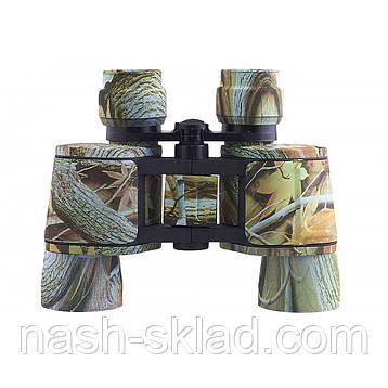 Бинокль Bassell 10х40 Color, широкое разнесение оптических каналов передает яркое изображение, фото 2