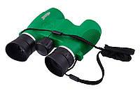 Бинокль 8х21 Bassell детский, защитное резиновое покрытие корпуса, мягкие резиновые наглазники, противоударный