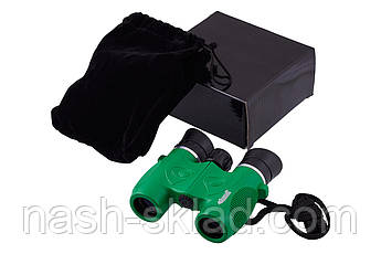 Бінокль 8х21 Bassell дитячий, захисне гумове покриття корпусу, м'які гумові наочник, протиударний, фото 3