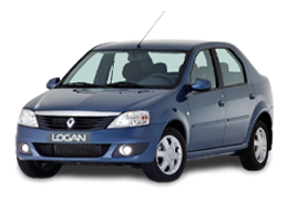 Килимок в багажник для Renault (Рено) Logan Sedan 1 2004-2012