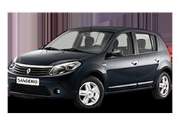 Килимок в багажник для Renault (Рено) Sandero 1 2007-2012