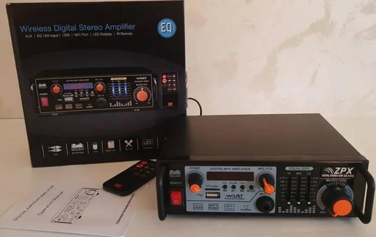 Усилитель мощности звука AMP ZX-1312, фото 2
