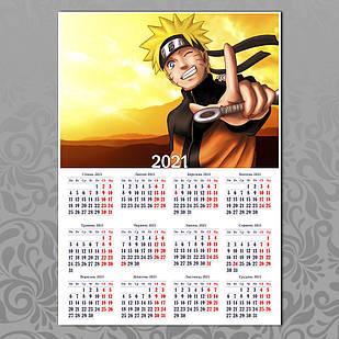 Плакат-календарь Naruto