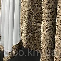 Занавески на окна в спальню кухню короткие, занавески с ламбрекенами для зала спальни кухни, комбинированные, фото 4