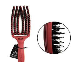 Щетка для волос Olivia Garden Finger Brush Combo Blush Chocolate Medium OGBFBC-CH