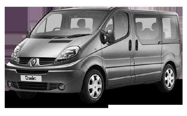 Килимок в багажник для Renault (Рено) Trafic 2 2001-2014