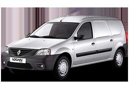 Килимок в багажник для Renault (Рено) Logan Van 2004-2013
