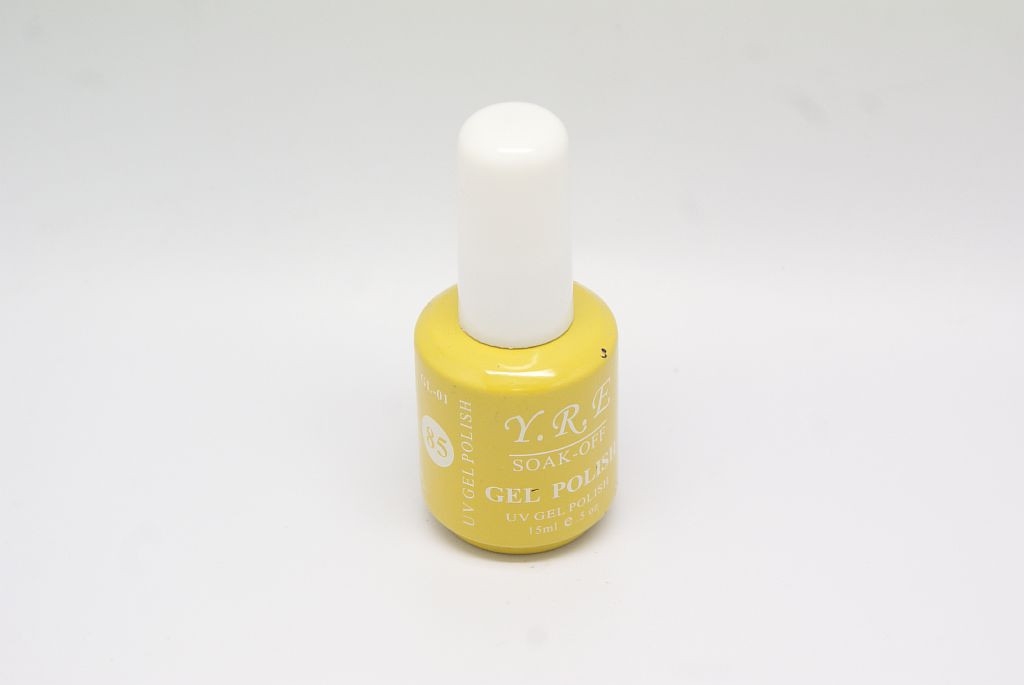 Гель - лак YRE GL-01-85 Желтый