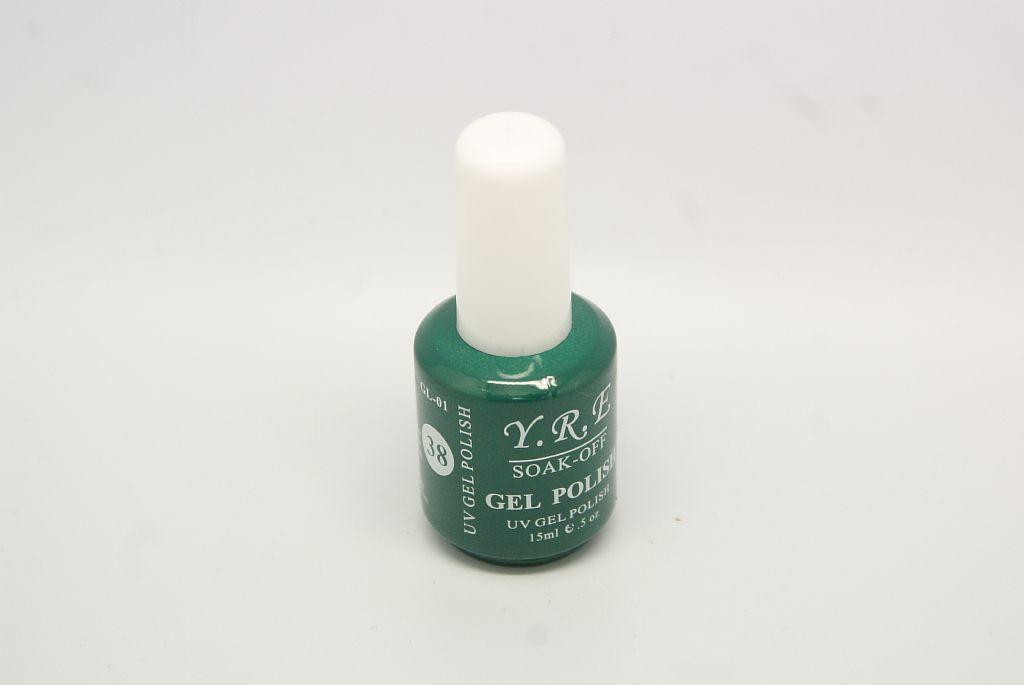 Гель - лак YRE GL-01-38 Изумрудный