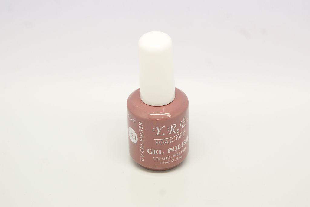 Гель - лак YRE GL-01-153 Молочный Шоколад