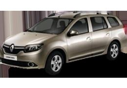 Килимок в багажник для Renault (Рено) Logan MCV 2 2013-2016+