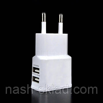 Универсальное зарядное устройство N7100 2xUSB, фото 2