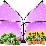 Светодиодная Фитолампа Full Spectrum от GrowLight для Комнатных Растений с Таймером + 3 режима освящения