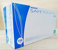 Перчатки латексные текстурированные р-р L (Medicom SafeTouch) 100шт/6,3г