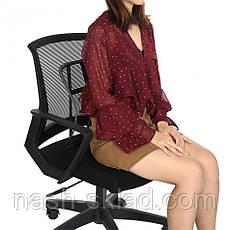 Ортопедическая спинка-подушка с массажером, для авто, фото 3