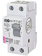 Дифференциальное реле ETI (УЗО) EFI-2 63/0,3 тип AC (10kA) (2064124)