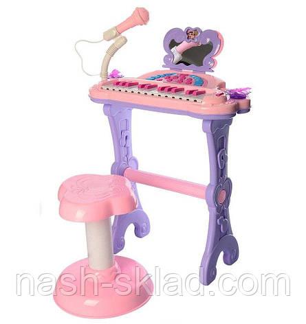 Детский синтезатор со стульчиком LOL, фото 2
