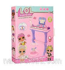 Детский синтезатор со стульчиком LOL, фото 3