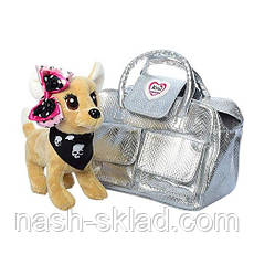 Собачка Bambi Кикки — это замечательная плюшевая игрушка  в соответственно оформленной под нее сумочку, фото 3