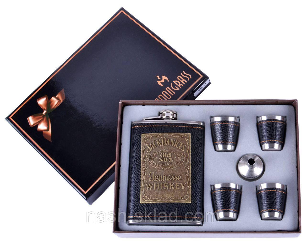 Подарочный набор Фляга под старое прославленное виски