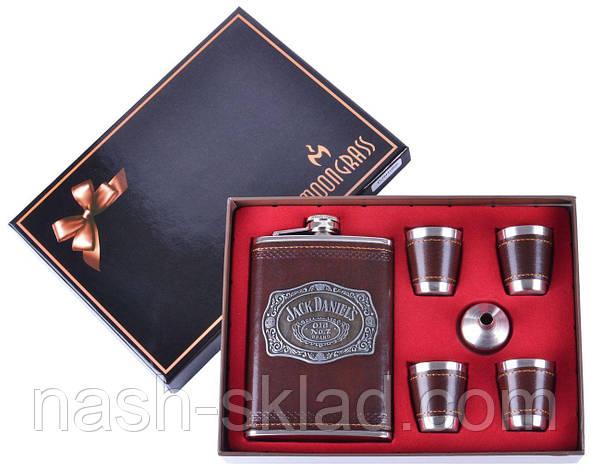 Подарочный набор Фляга под старое прославленное виски 4 стопки, фото 2