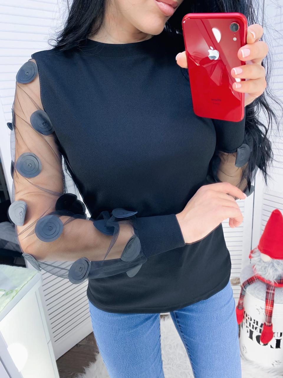 Женская нарядная блуза кт331