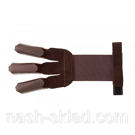 Кожаная перчатка лучника, фото 2